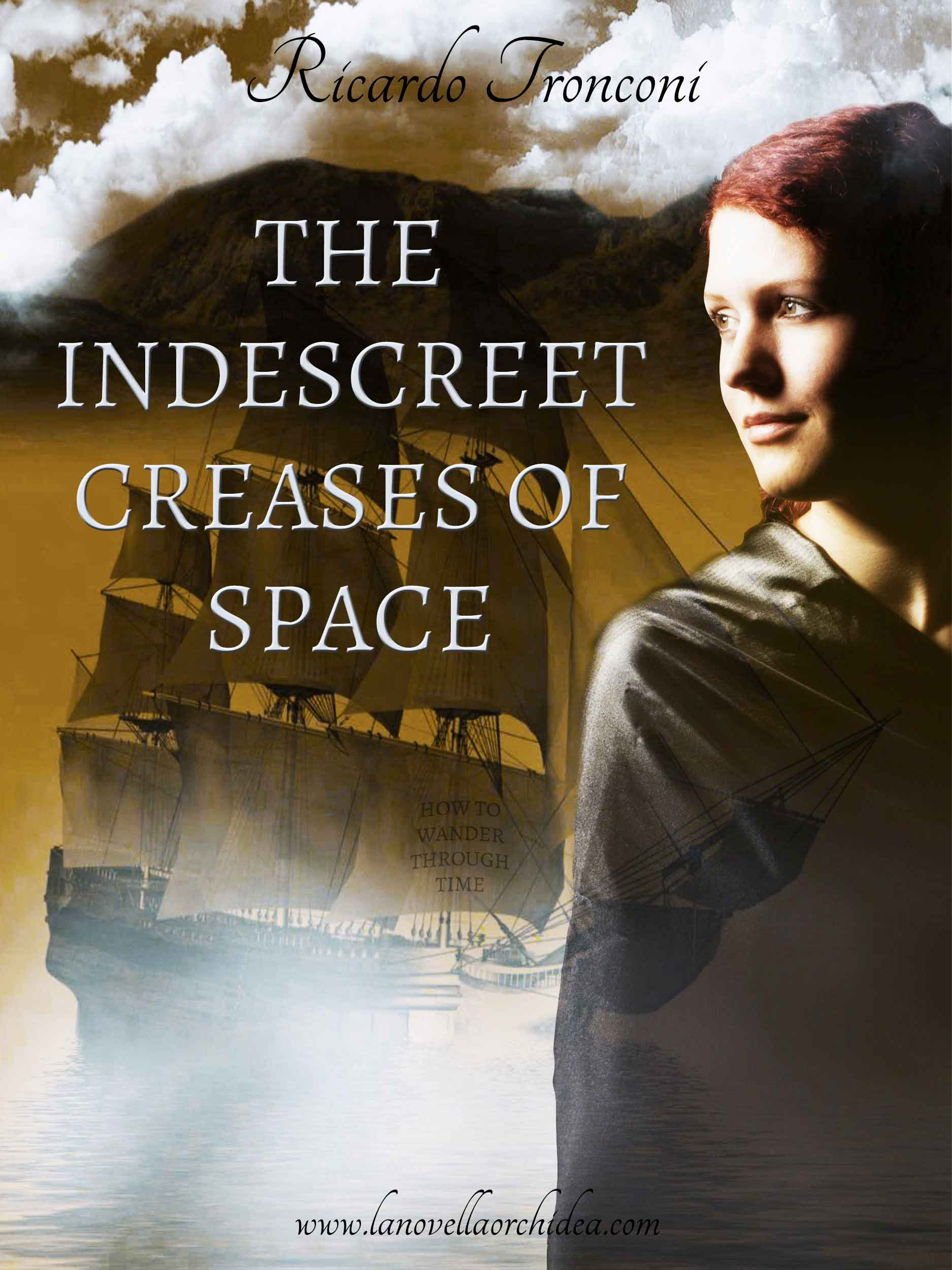 The indiscreet creases of space, or how to wonder through time